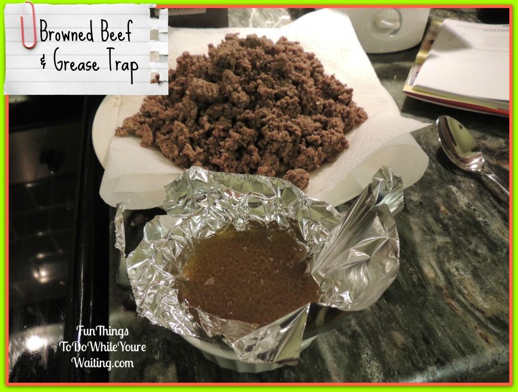 Browned Beef