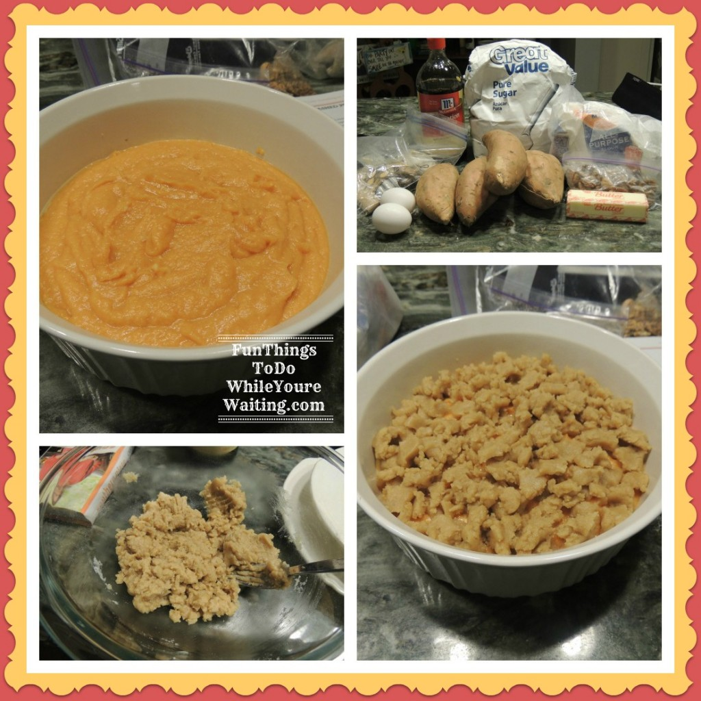 Sweet Potato Steps