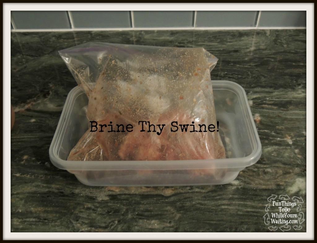 brine thy swine