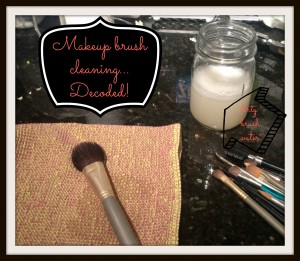 cleaning makeup brushes decoded