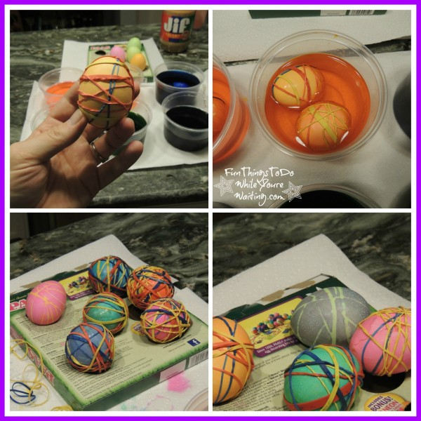 Rubber Band Eggs