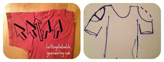 fold and plan t-shirt mod