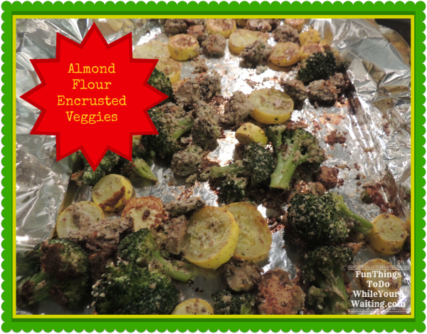 Almond Flour Veggies
