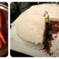 Carrots and Finished Cake