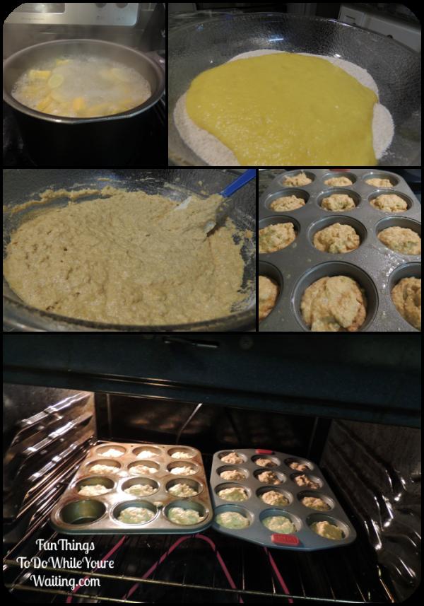 Squash Muffins Mix Up