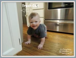 crawling baby bub