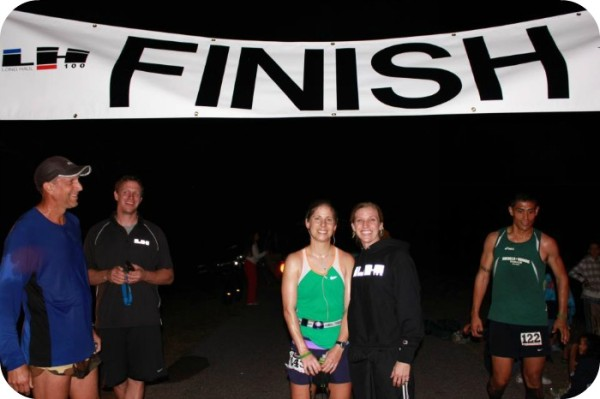 100 Miles Finish Line!