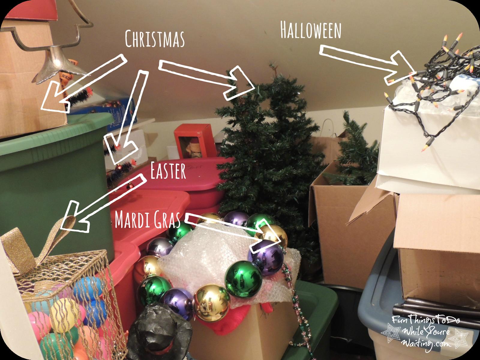 Holiday Closet