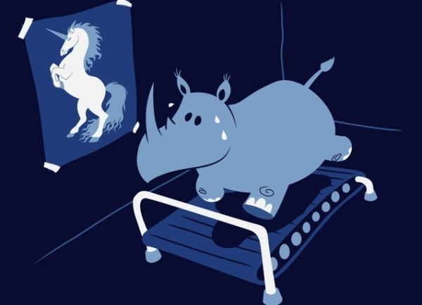 Runnin' Rhino from Threadless