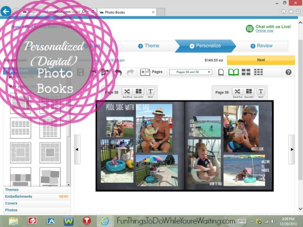 Personalized Digital Photo Books