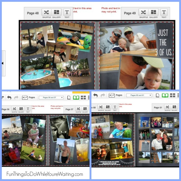 Personalized Digital Photo Book Collage