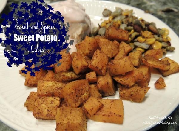 Sweet Potato Cubes