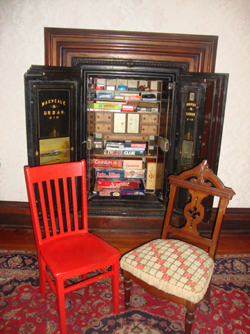 The Red Chair plots with a  new Victorian friend