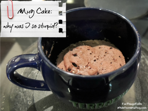 Mug Cake Eat it up!