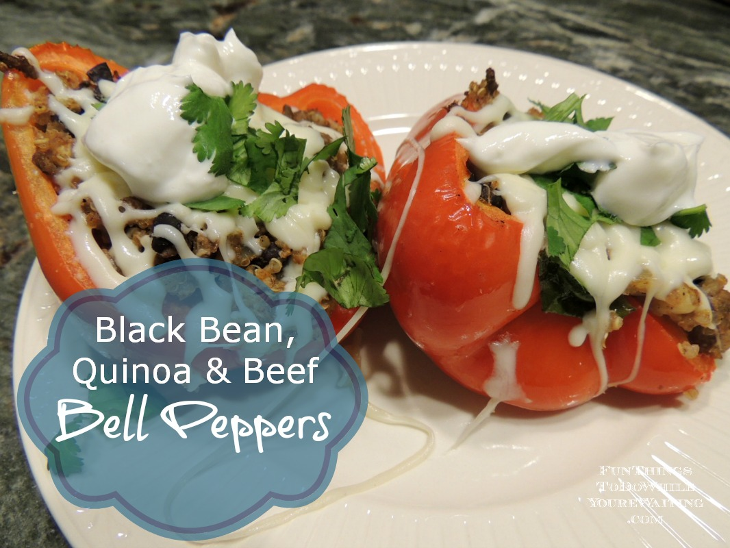 Stuffed Bell Peppers- A New Fam Favorite - Fun Things To Do While You ...