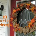 DIY Burlap Wreath