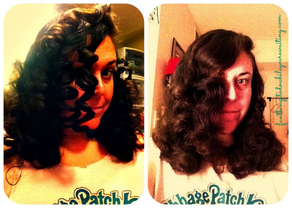 curl collage