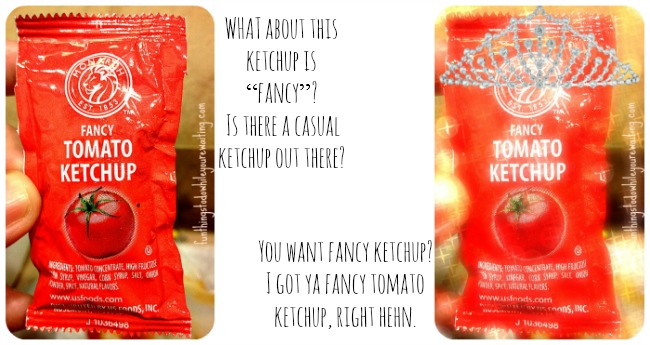 ketchup collage