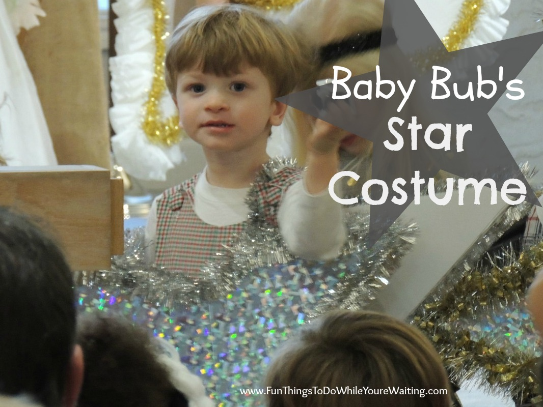 sc 1 st  Fun Things To Do While Youu0027re Waiting & DIY Star Costume for Baby Bub - Fun Things To Do While Youu0027re Waiting