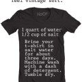 How to get t-shirts vintage soft