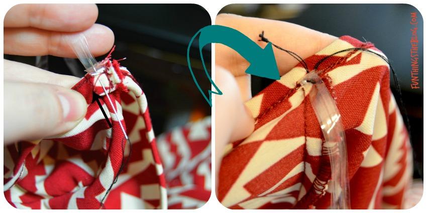 hanger strap stitch collage
