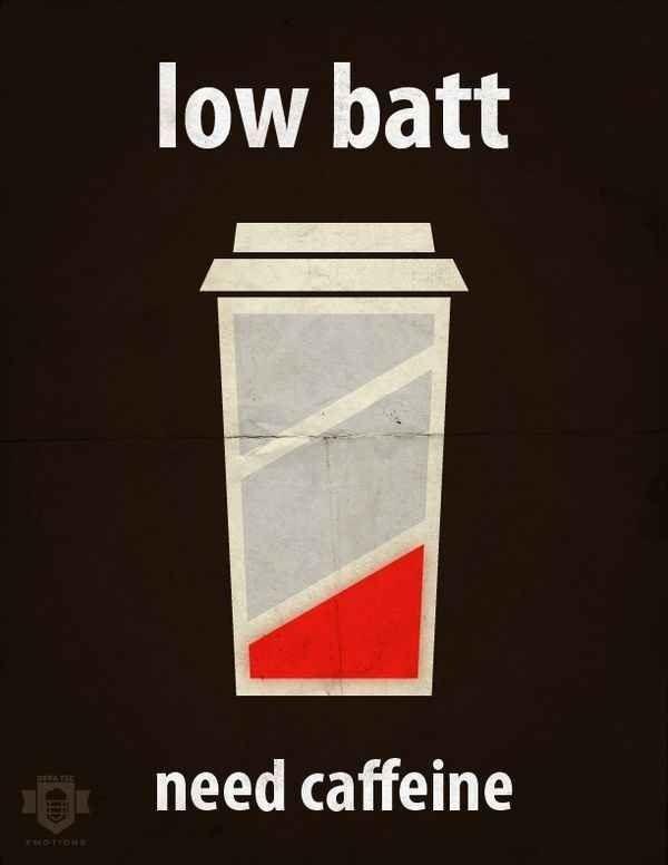 Low Battery Coffee