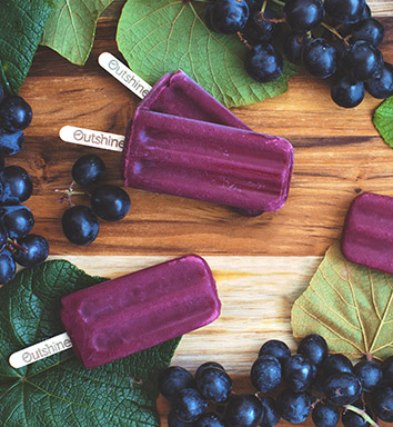 Grape Outshine Fruit Bar