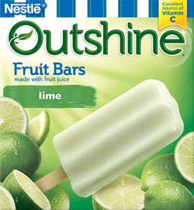 Lime Outshine Fruit Bars