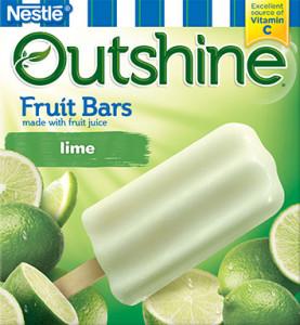 Lime Outshine Fruit Bars