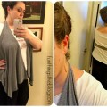 Five Minute Draped Vest DIY
