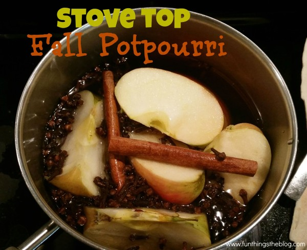 Stove Top Fall Potpourri