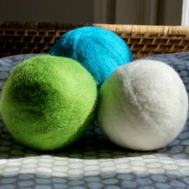 Wool Dryer Balls from http://mightynest.com/shop/healthy-home/cleaning-products/wool-dryer-balls-set-of-3