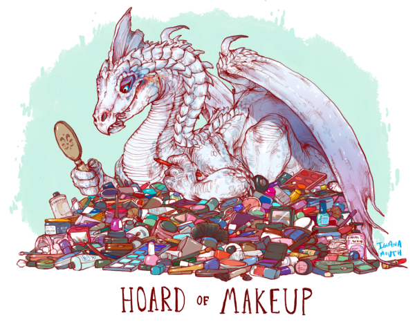 Hoard of Makeup, By: IGUANAMOUTH