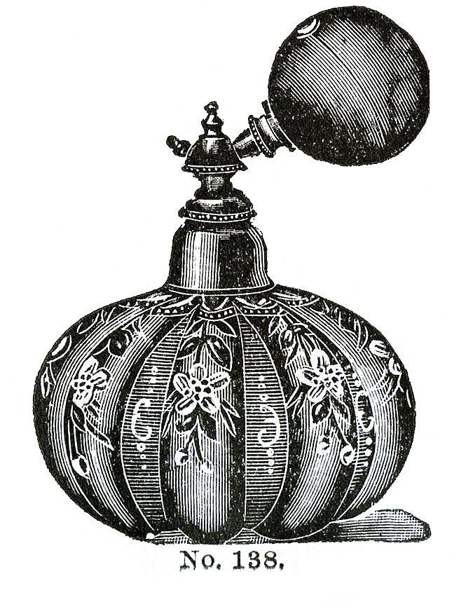 The Graphics Fairy Vintage Perfume