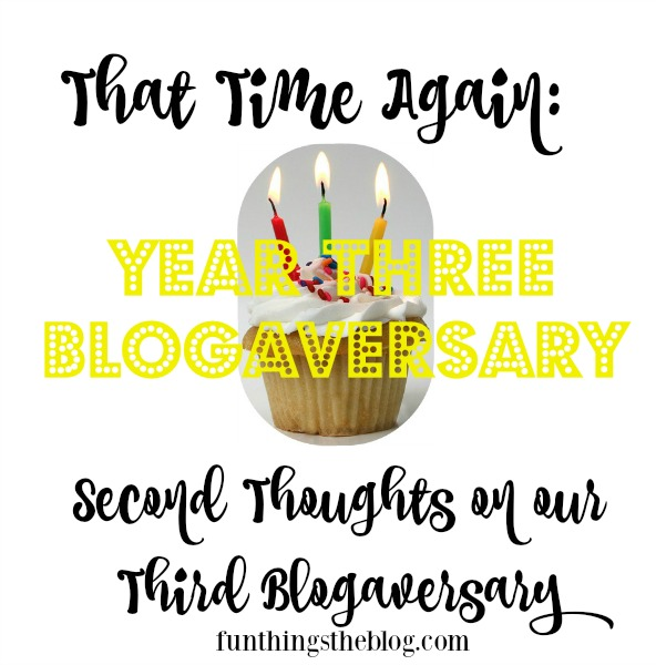 Our Three Year Blogaversary