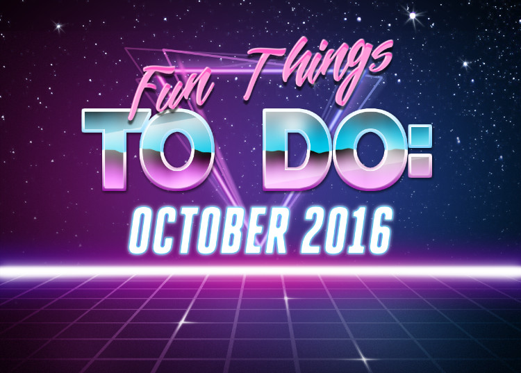 Fun Things to Do: October 2016 Title Card