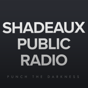 Logo for Shadeaux Public Radio Podcast
