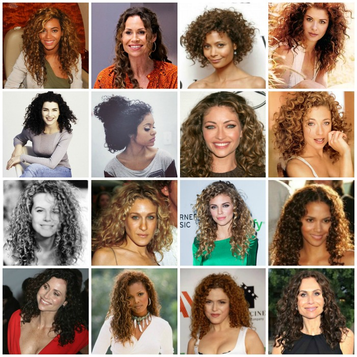 A Mood Board for Long, Curly Hair