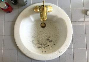 GoFatherHood.Com's Sink after Shaving
